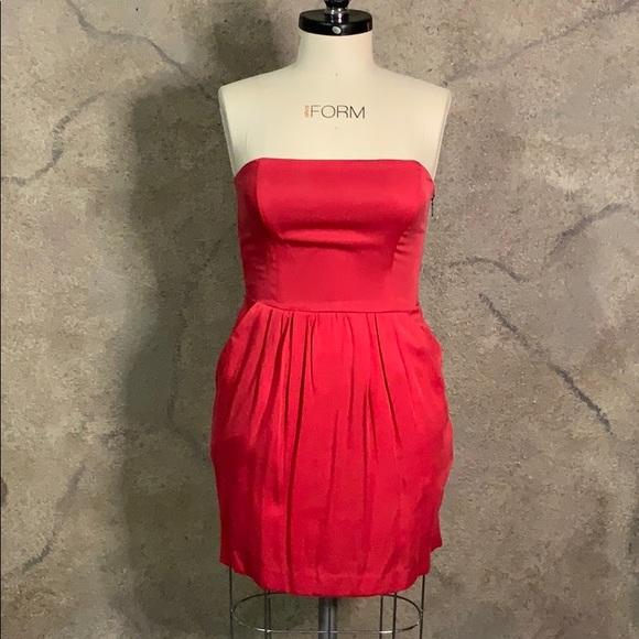 RACHEL Rachel Roy Dresses & Skirts - Red strapless dress